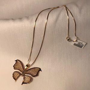 Jewelry - Butterfly sterling necklace